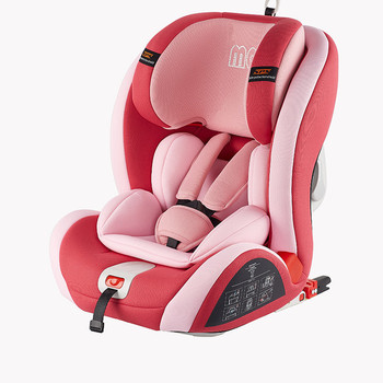 Urban  Convertible Car Seat, with ISOFIX system Group 1,2,3 (Pink)