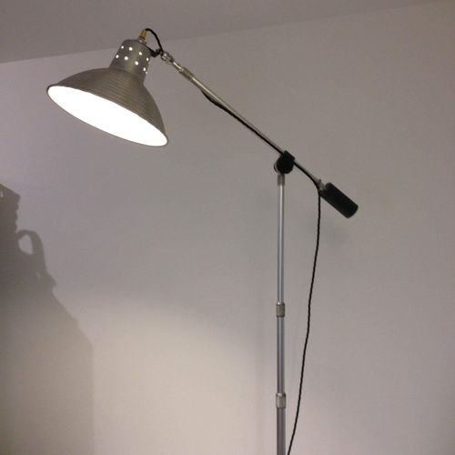 Upcycled Floor Lamp.