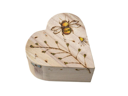 Meadow Keepsake Heart
