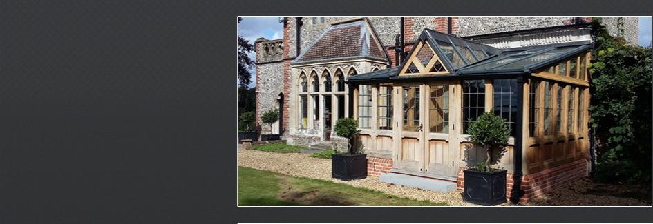 oak framed conservatory garden room