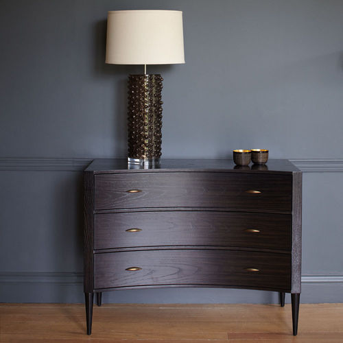 Percy Chest of Drawers Ebonised Oak