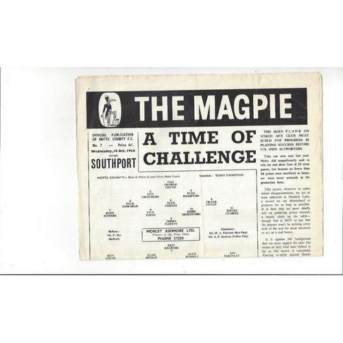 Notts County v Southport 1966/67