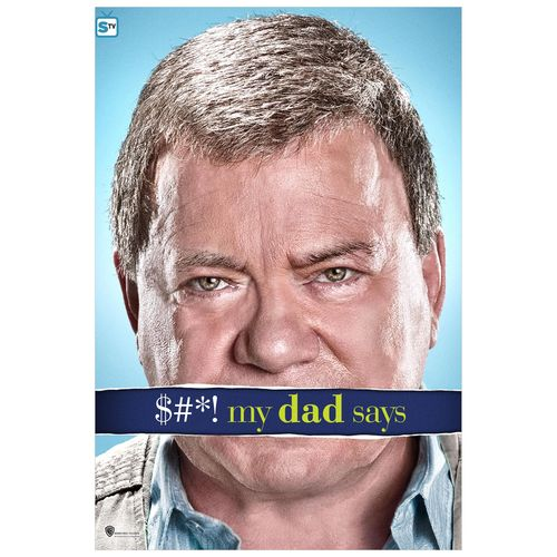 $h*! My Dad Says (2010) USA TV Sit-com series. William Shatner.