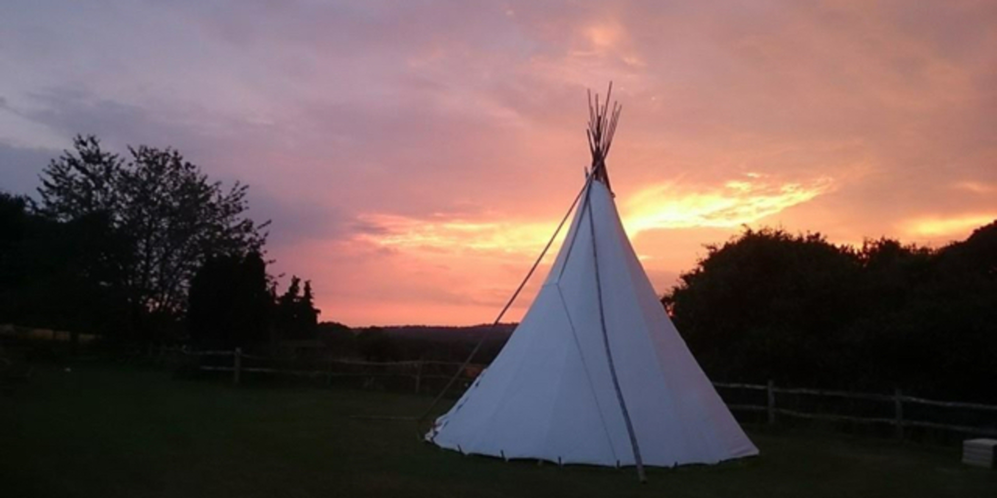 Tipi Marquee Sussex, Tipi Sussex, Glamping Sussex