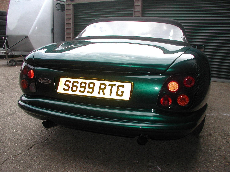 SOLD - 1998 Green TVR Chimaera