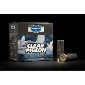Gamebore Clear Pigeon 12G