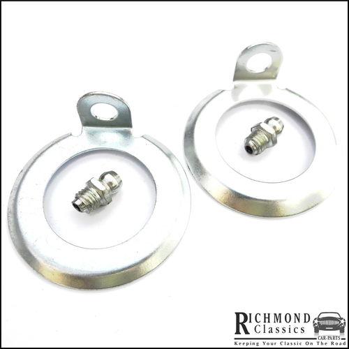Classic Mini Swivel Pin Lock Tabs with Grease Nipples - 2A4238,  LN10051