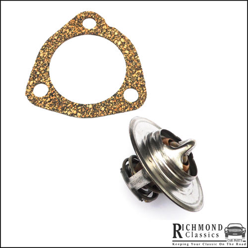 Classic Mini, MG, BLMC Thermostat 82 Degrees with Gasket - GTS104