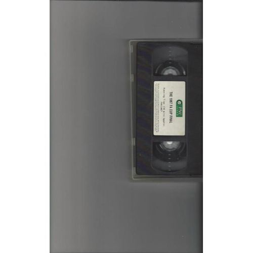 1997 FA Cup Final Chelsea v Middlesbrough VHS Video