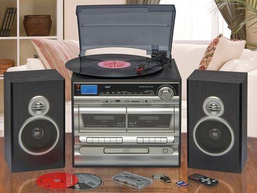 Six-in-One Midi Hi-Fi Music System