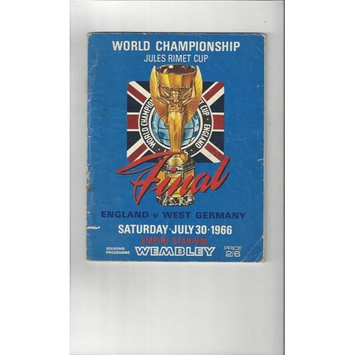 1966 WORLD CUP Official Programme + Reprint, Information leaflet & Newspaper
