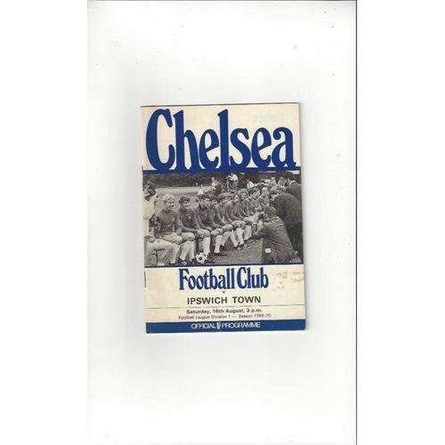 Chelsea v Ipswich Town 1969/70 + Handbook