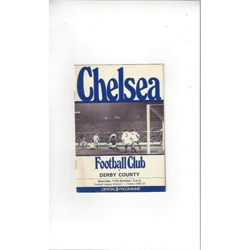 Chelsea v Derby County 1969/70