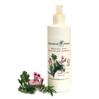 Rose geranium and Rosemary Hand and Body Lotion