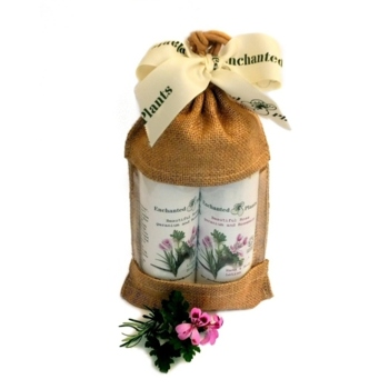 Rose geranium and Rosemary Soap and Lotion Gift