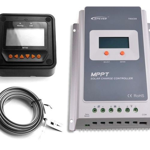 EP Solar 40A 12/24V MPPT A Tracer Controller with Remote Meter