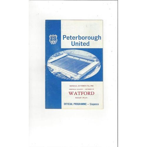 Peterborough United Home Football Programmes