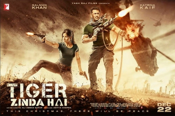 Armed & dangerous, Salman Khan & Katrina Kaif on Tiger Zinda Hai's new poster