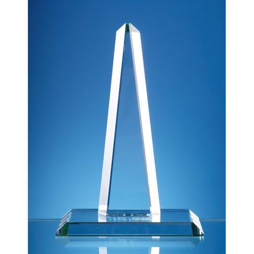 20.5cm CrystalEdge Clear Obelisk Award