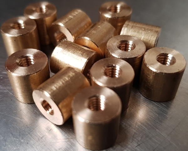 Brass Threaded Spacers