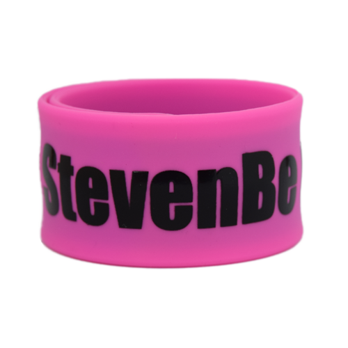 25mm Silk Screened Wristbands