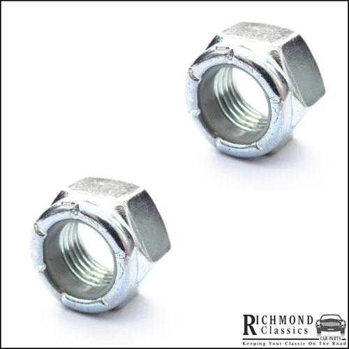 "7/16"" UNF High Tensile Lock Nuts for Classic Mini Ball Joints"