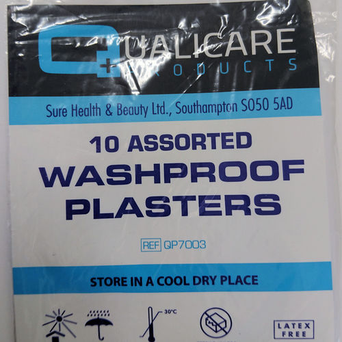 Plasters -  Washproof assorted