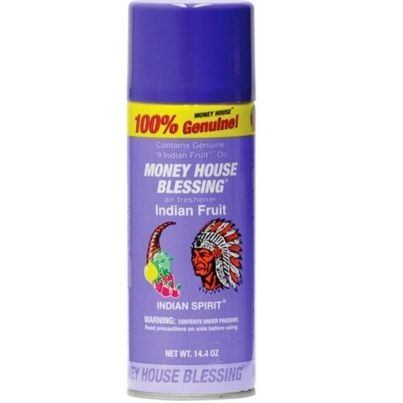 Money House Blessing Indian Fruit Spray
