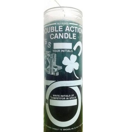 Double Action Money Candle