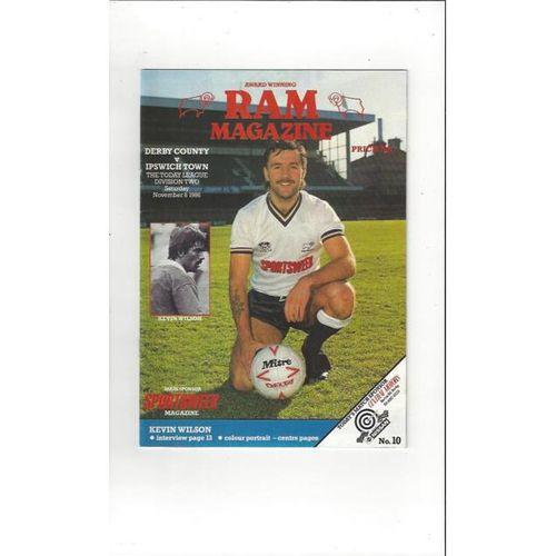 Ipswich Town Football Programmes