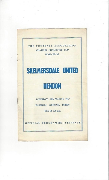 Football Programme of the Week