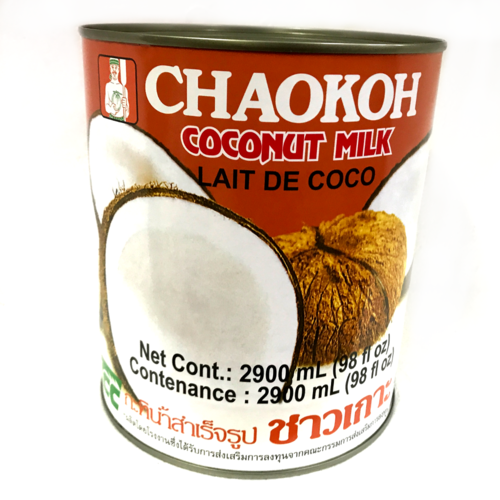 Chaokoh Large Coconut Milk 6x2900/case