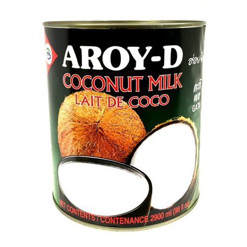 Aroy-D Large Coconut Milk 6x2900/case