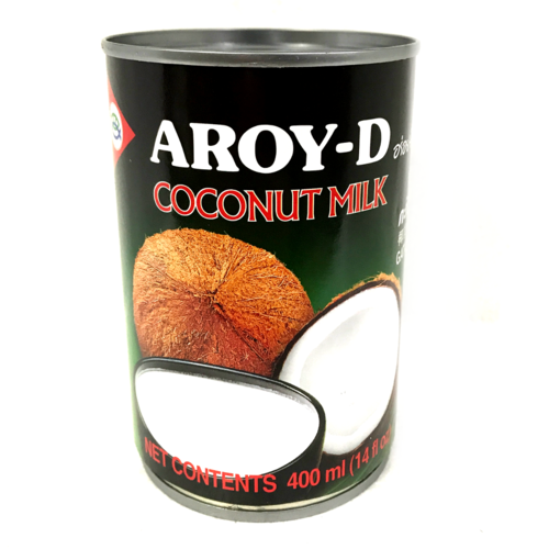 Aroy-D Small Coconut Milk 24x400ml/case