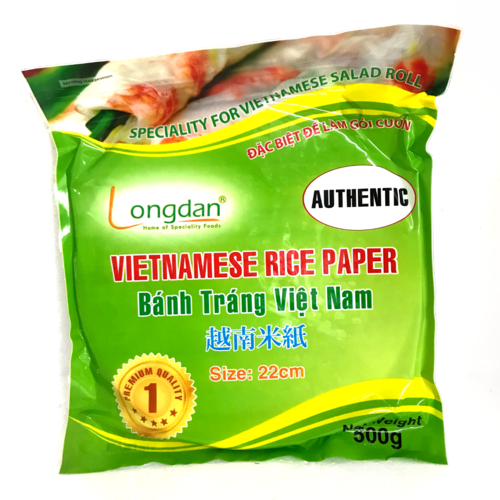 Longdan Rice Paper 22cm 20x500g/case