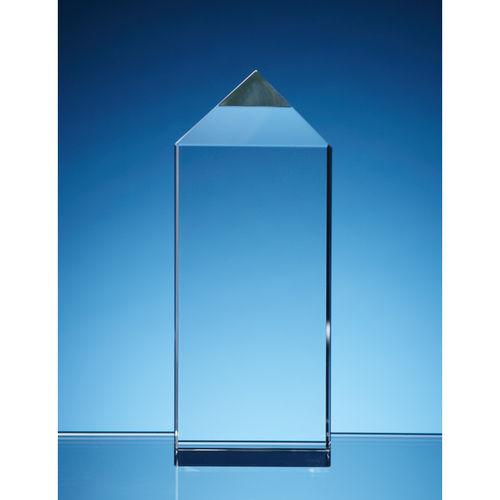 10cm Optical Crystal Empire Award