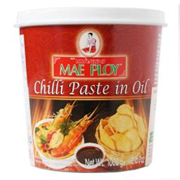 Mae Ploy Chilli Paste in Oil 12x1kg/case