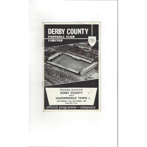 Derby County v Huddersfield Town 1967/68