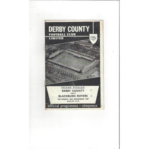 Derby County v Blackburn Rovers 1967/68