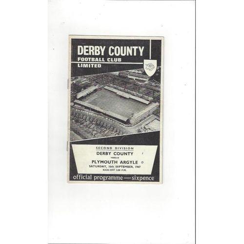 Derby County v Plymouth Argyle 1967/68