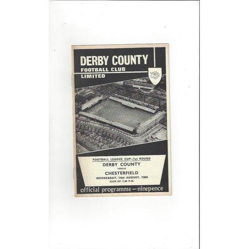 Chesterfield Away Football Programmes