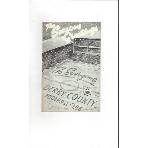 Derby County v Portsmouth 1968/69
