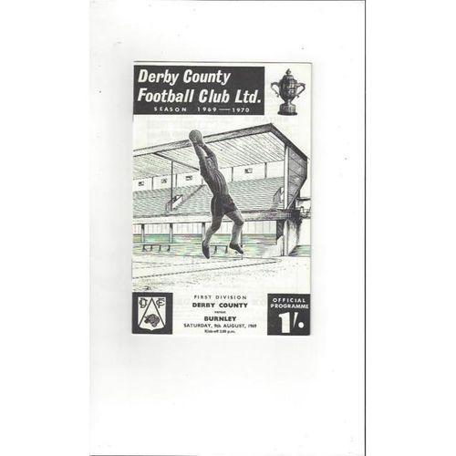 Derby County v Burnley 1969/70