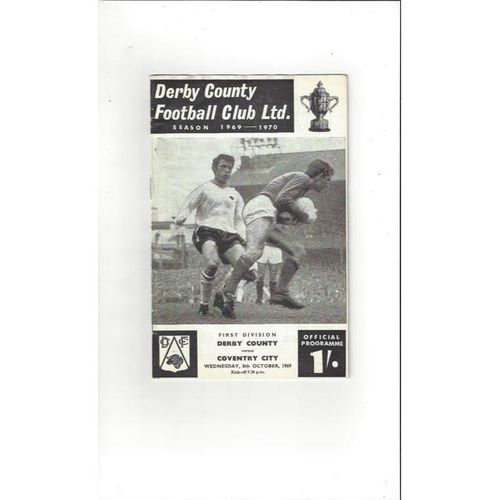 Derby County v Coventry City 1969/70 + League Review