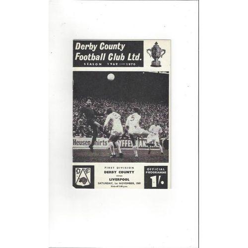 Derby County v Liverpool 1969/70