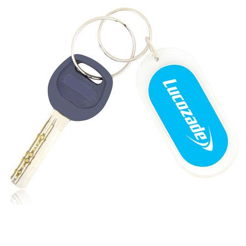 Acrylic Plastic Keychains Keyrings