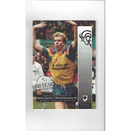 Wolverhampton Wanderers Away Football Programmes