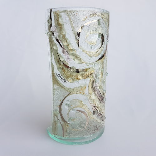 Crystal Tealight Holder (20cm x 10cm)