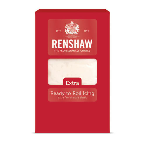 *NEW* RENSHAW EXTRA WHITE READY TO ROLL ICING