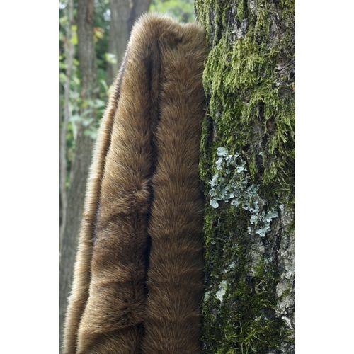 Fur throw - Vison